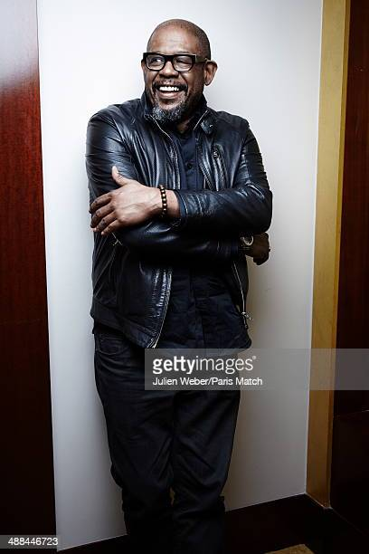 American actor Forest Whitaker is photographed for Paris Match on April 08 2014 in Paris France
