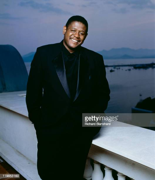 American actor Forest Whitaker publicises the film 'A Rage in Harlem' circa 1991