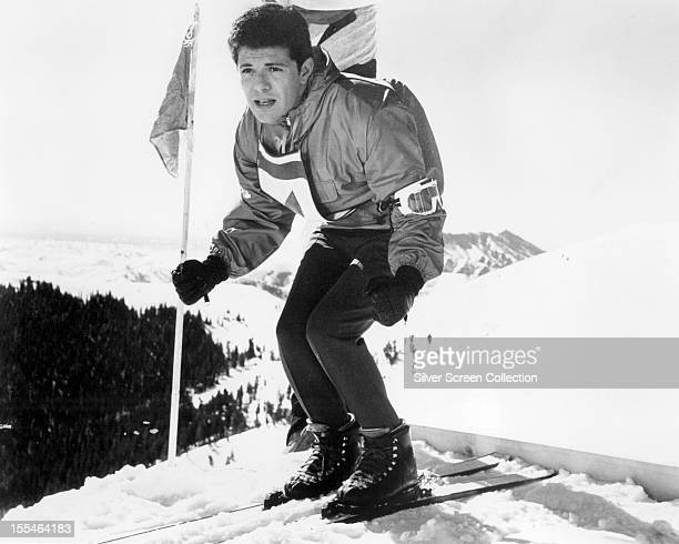American actor Frankie Avalon as Todd Armstrong in 'Ski Party' directed by Alan Rafkin 1965