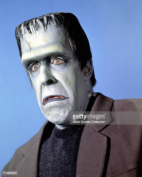 American actor Fred Gwynne as Herman Munster in the TV comedy series 'The Munsters' circa 1965