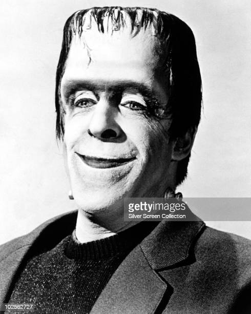 American actor Fred Gwynne as Herman Munster in TV's 'The Munsters' circa 1965