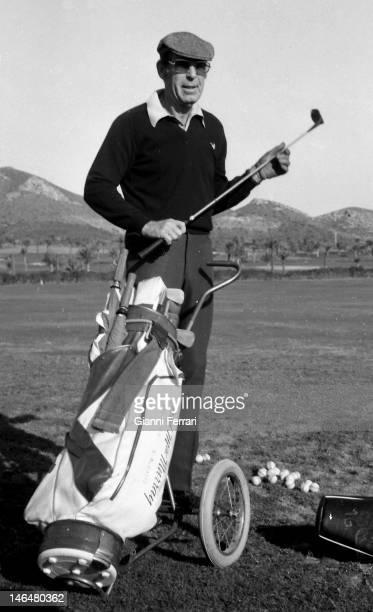 American actor Fred McMurray in a golf tournament in 'La Manga del Mar Menor' Murcia Spain