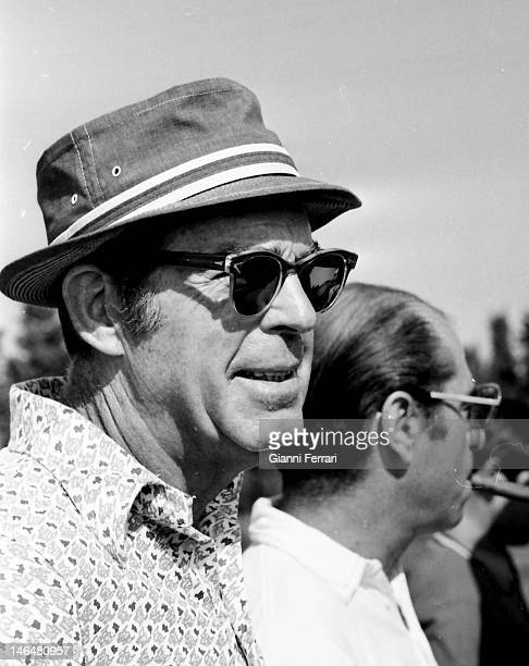 American actor Fred McMurray in a golf tournament in 'La Manga del Mar Menor' Murcia Spain