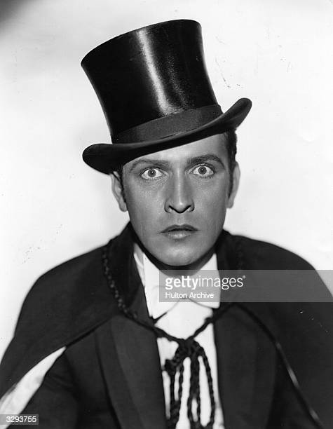 American actor Fredric March as Dr Jekyll in the screen adaptation of Robert Louis Stevenson's 'Doctor Jekyll and Mr Hyde' directed by Rouben...