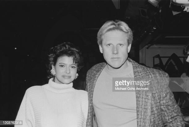American actor Gary Busey at the Limelight in New York City, USA, circa 1987.