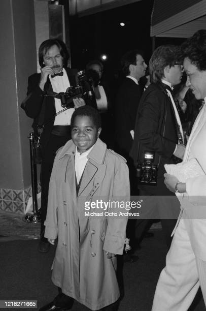 American actor Gary Coleman at the premiere of the film 'Rocky IV' at the Westwood Village Theatre in Los Angeles, California, 21st November 1985.