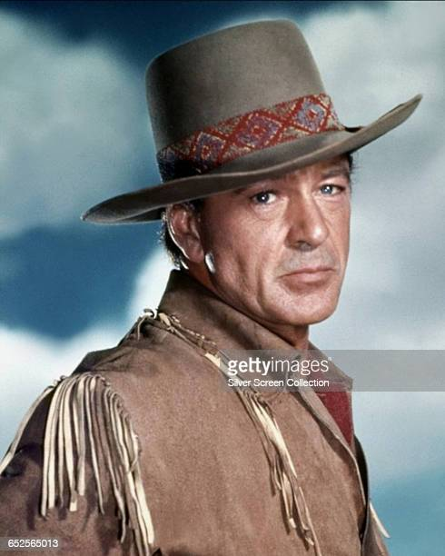 American actor Gary Cooper as Captain Quincy Wyatt in the 'Florida Western' 'Distant Drums', directed by Raoul Walsh, 1951.