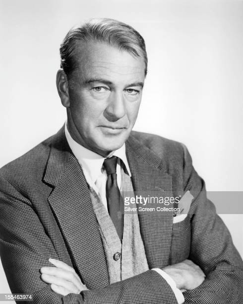 American actor Gary Cooper , circa 1950.