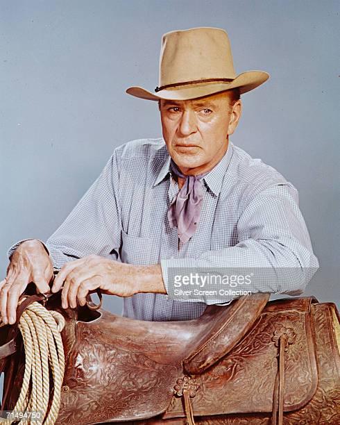 American actor Gary Cooper , circa 1955.