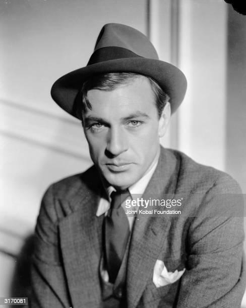 American actor Gary Cooper in his role as the eponymous hero of 'Mr Deeds Goes To Town'.