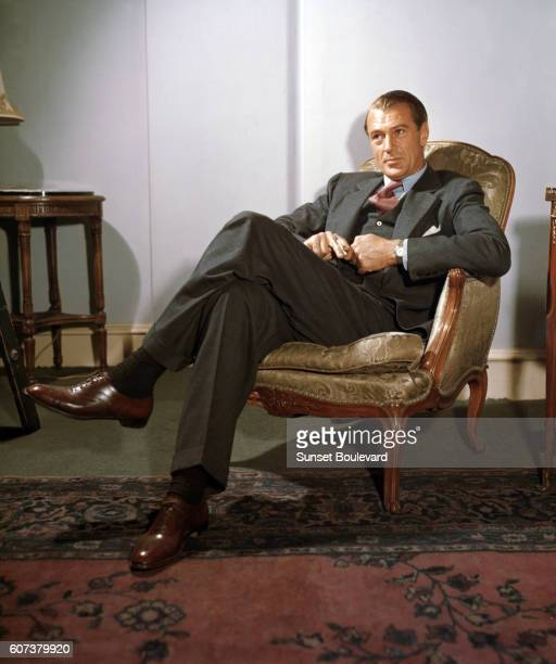 American actor Gary Cooper