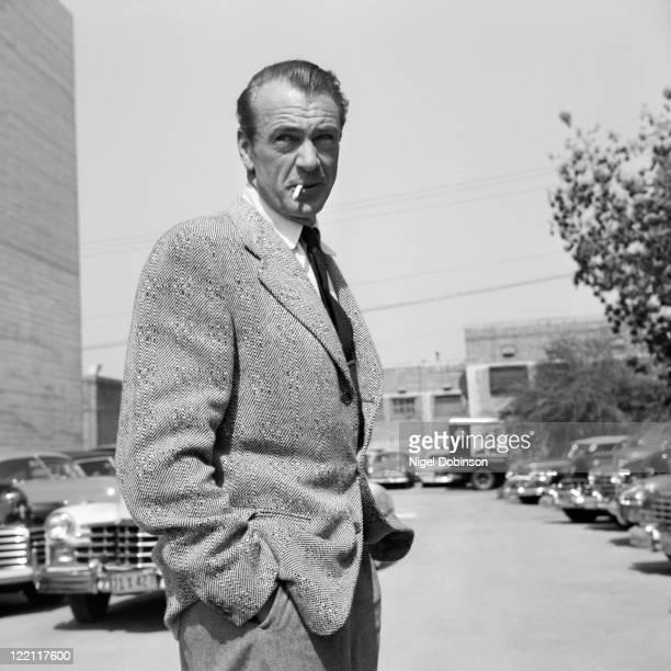 American actor Gary Cooper , USA, circa 1955.