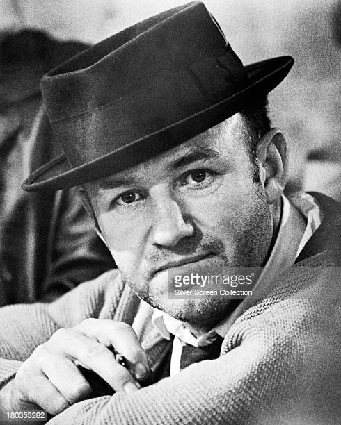American actor Gene Hackman as detective Jimmy 'Popeye' Doyle in 'The French Connection' directed by William Friedkin 1971