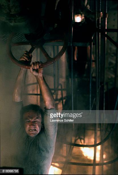 American actor Gene Hackman in a scene from the film 'The Poseidon Adventure' California 1972