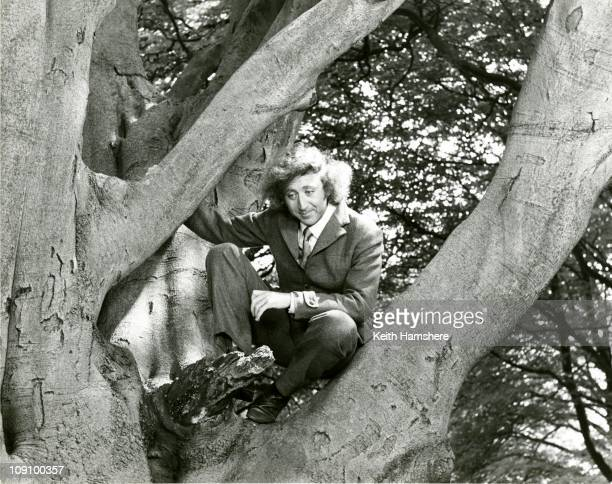 American actor Gene Wilder as 'The Fox' on the set of the film 'The Little Prince' in Berkhamsted, Hertfordshire, 1974.