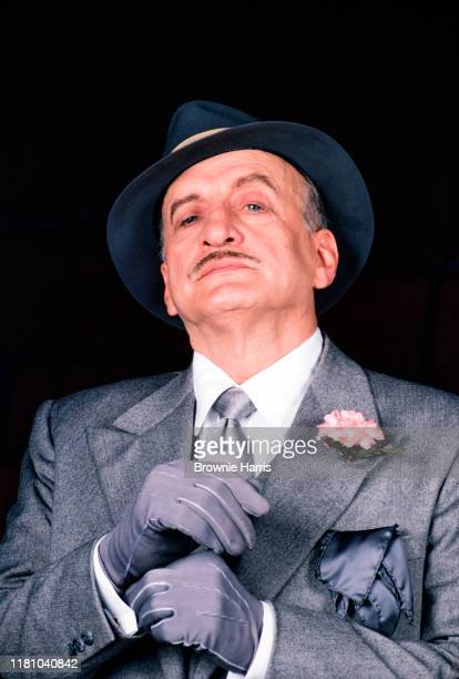American actor George C Scott appearing in the Broadway production of 'Present Laughter', New York, New York, 1982.