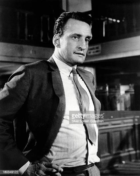 American actor George C Scott as Bert Gordon in 'The Hustler', directed by Robert Rossen, 1961.