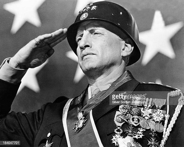 American actor George C Scott as General George S Patton in 'Patton' directed by Franklin J Schaffner 1970