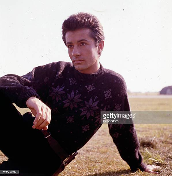 American actor George Chakiris posed on location during production of the film '633 Squadron' in 1963