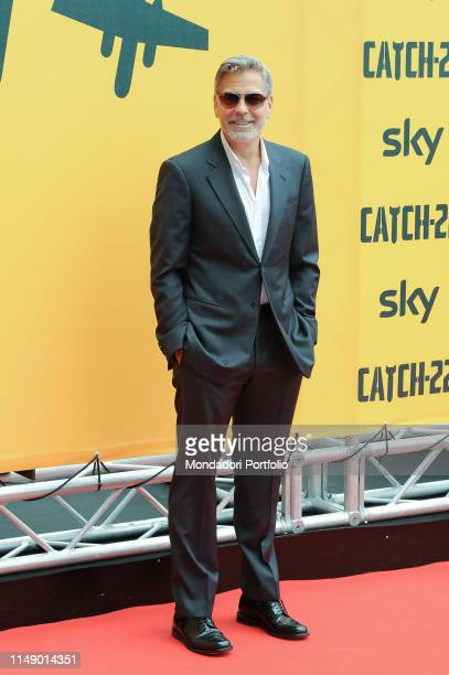 American actor George Clooney attends the Sky TV series Catch-22 photocall. Rome , May 13th, 2019