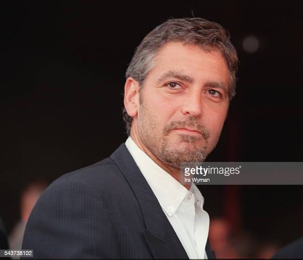 American actor George Clooney attends the special screening of the movie The Perfect Storm by German director, screenwriter and producer Wolfgang...