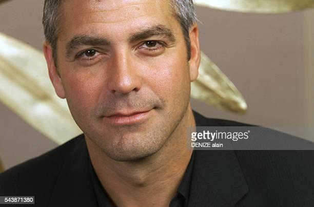 American actor George Clooney