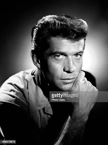 American actor George Nader Los Angeles 1958