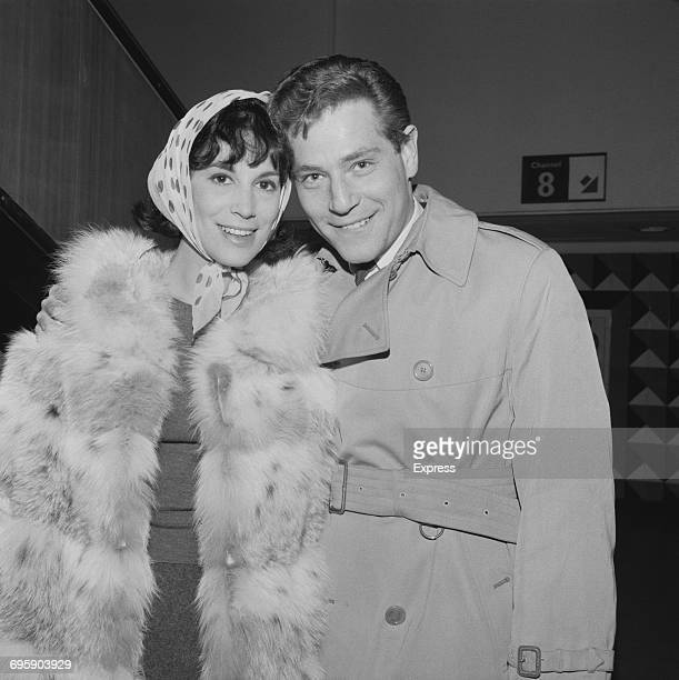 American actor George Segal and his wife, film producer, editor and screenwriter Marion Segal , UK, 2nd May 1965.