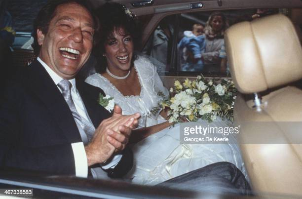 American actor George Segal marries music manager Linda Rogoff, 1983.