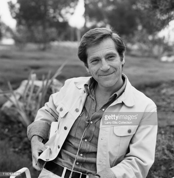 American actor George Segal posed in England at a press call to promote his latest film 'Blume In Love' circa 1973.