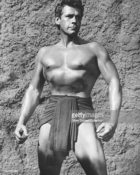 American actor Gordon Scott as Tarzan circa 1958