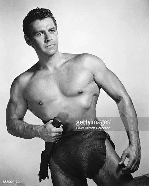 American actor Gordon Scott as Tarzan in the film 'Tarzan's Greatest Adventure' 1959
