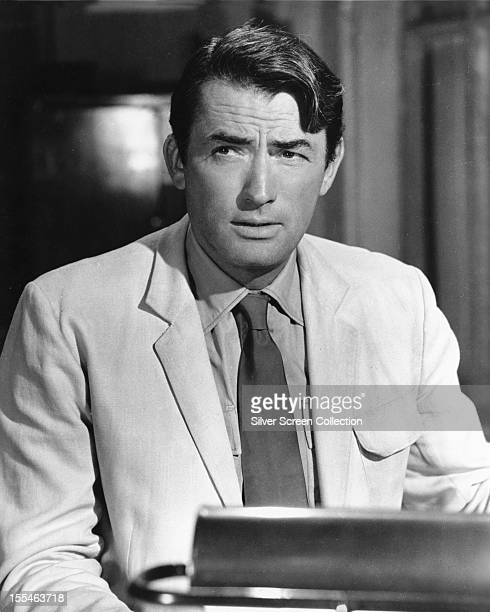 American actor Gregory Peck as Captain Keith Mallory in 'The Guns of Navarone', directed by J Lee Thompson, 1961.