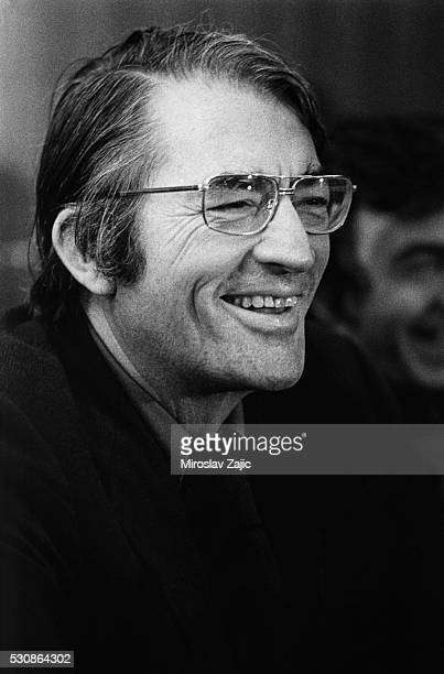 American actor Gregory Peck at the Cannes Film Festival