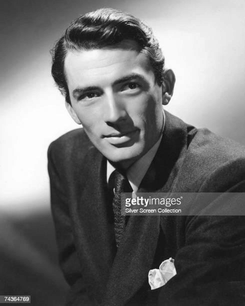 American actor Gregory Peck circa 1945