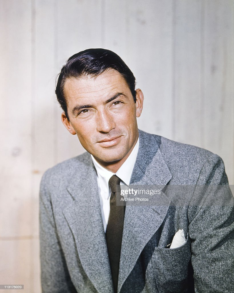 Actor Gregory Peck : News Photo