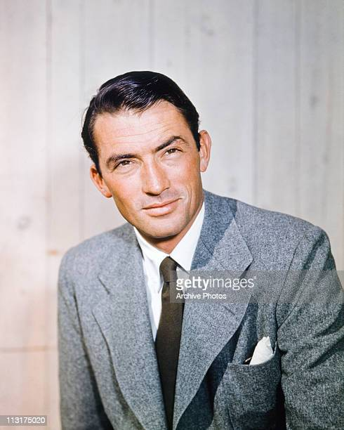 American actor Gregory Peck in the 1950's.