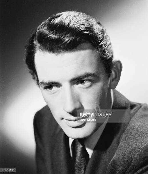 American actor Gregory Peck the star of such classics as 'Spellbound' and 'Roman Holiday'