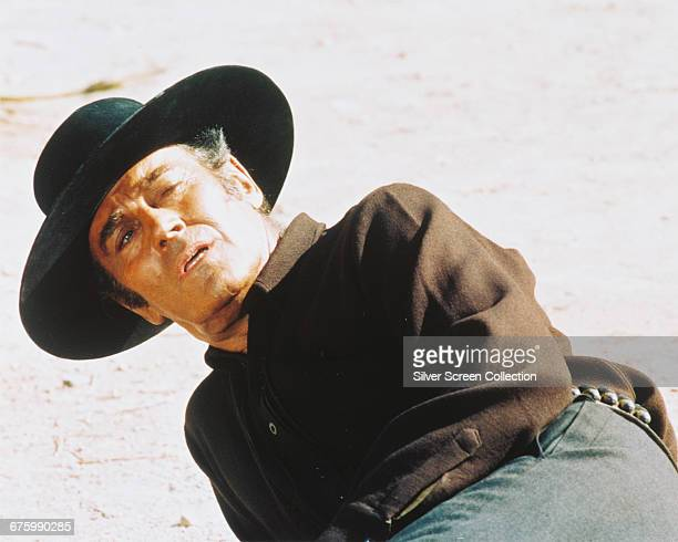 American actor Henry Fonda as Frank in Sergio Leone's Spaghetti Western 'Once Upon a Time in the West' 1968