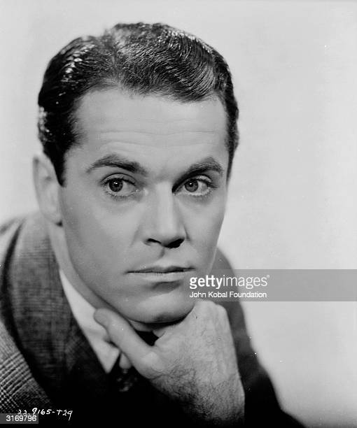 American actor Henry Fonda as he appears in the romantic drama 'Wings of the Morning' directed by Harold D Schuster and shot on location in Britain