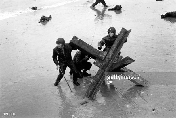 American actor Henry Fonda in 'The Longest Day' which tells the story of the DDay invasion of Normandy during World War II