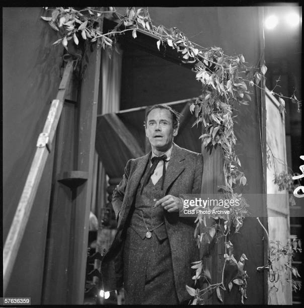 American actor Henry Fonda performs on 'Toast of the Town' New York New York August 2 1953