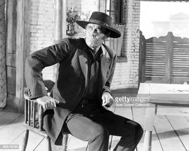 American actor Henry Fonda plays the villain in 'C'era una volta il West' 1968
