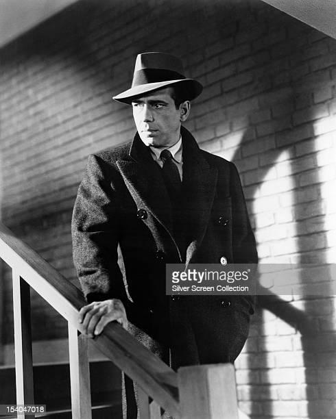 American actor Humphrey Bogart as Sam Spade in 'The Maltese Falcon', directed by John Huston, 1941.
