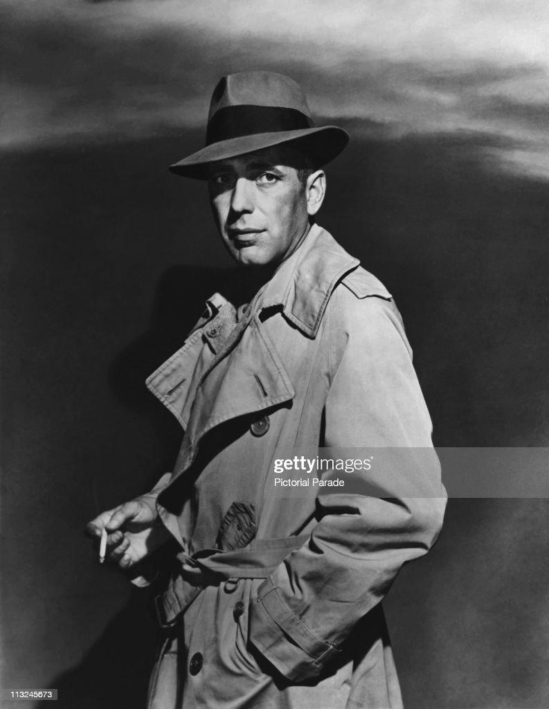 Humphrey Bogart In A Trenchcoat : News Photo