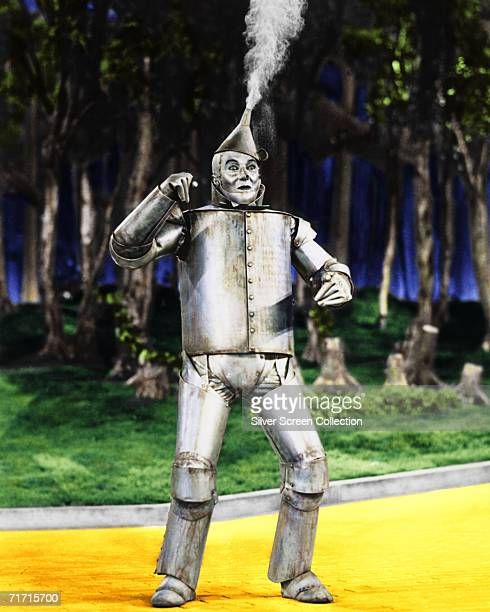American actor Jack Haley as Hickory/The Tin Man in 'The Wizard of Oz' 1939