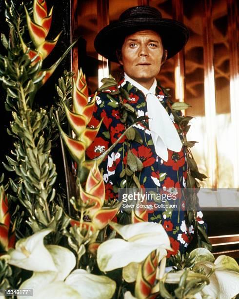American actor Jack Lord as Lt Steve McGarrett in the TV series 'Hawaii FiveO' circa 1975