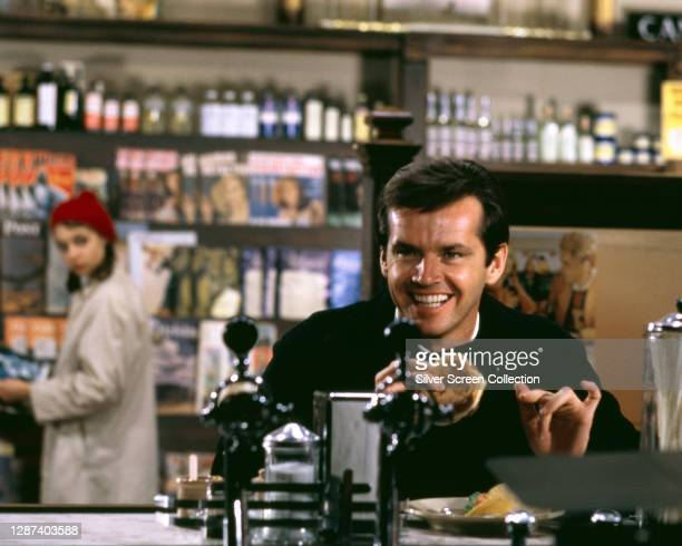 American actor Jack Nicholson as Jonathan Fuerst in the film 'Carnal Knowledge', 1971.