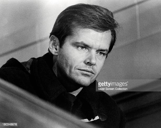 American actor Jack Nicholson as Robert Eroica Dupea in 'Five Easy Pieces' directed by Bob Rafelson 1970