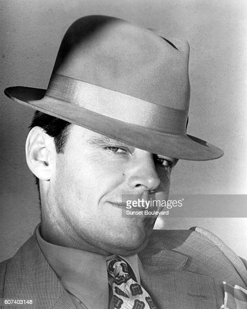 American actor Jack Nicholson on the set of Chinatown written and directed by PolishFrench Roman Polanski